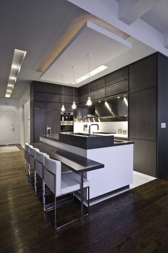 Sanca de Gesso e Forros 75+ Modelos com Fotos! Cocinas - modelos de cocinas