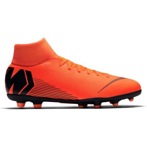 Nike Mercurial Superfly Vi Club Mg Mens Football Boots Total Orange Black Cool Football Boots Football Boots Kids Football Boots