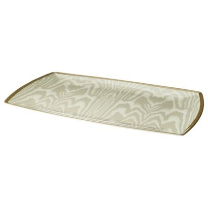 Threshold™ Melamine Woodgrain Platter - Gold - Holiday decor to buy - christmas clearance decor