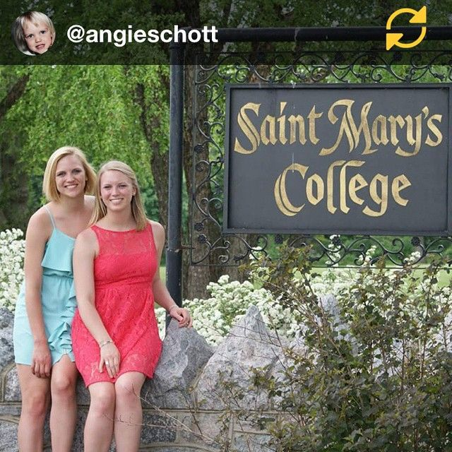 RG @angieschott: Sisters by birth and by choice! SMC '13