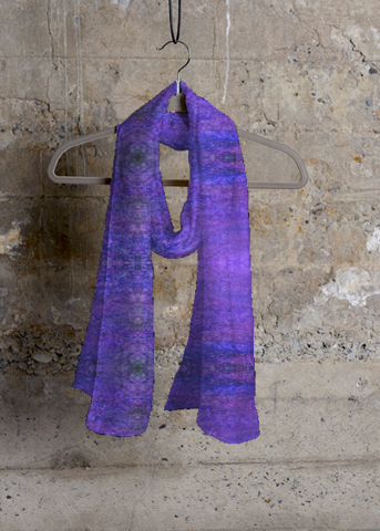 Silk Square Scarf - Apstract silk scarf by VIDA VIDA