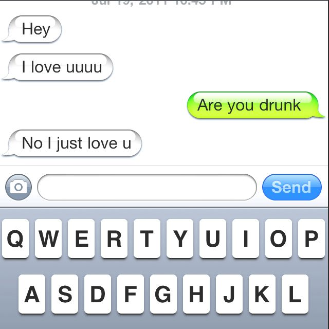 Lmao drunk text #oomf love those     NOT | Love