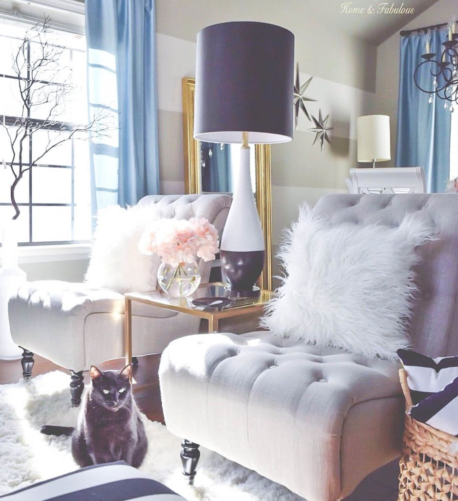 10 ways to make your living room extra glam feminine - What to do with an extra living room ...