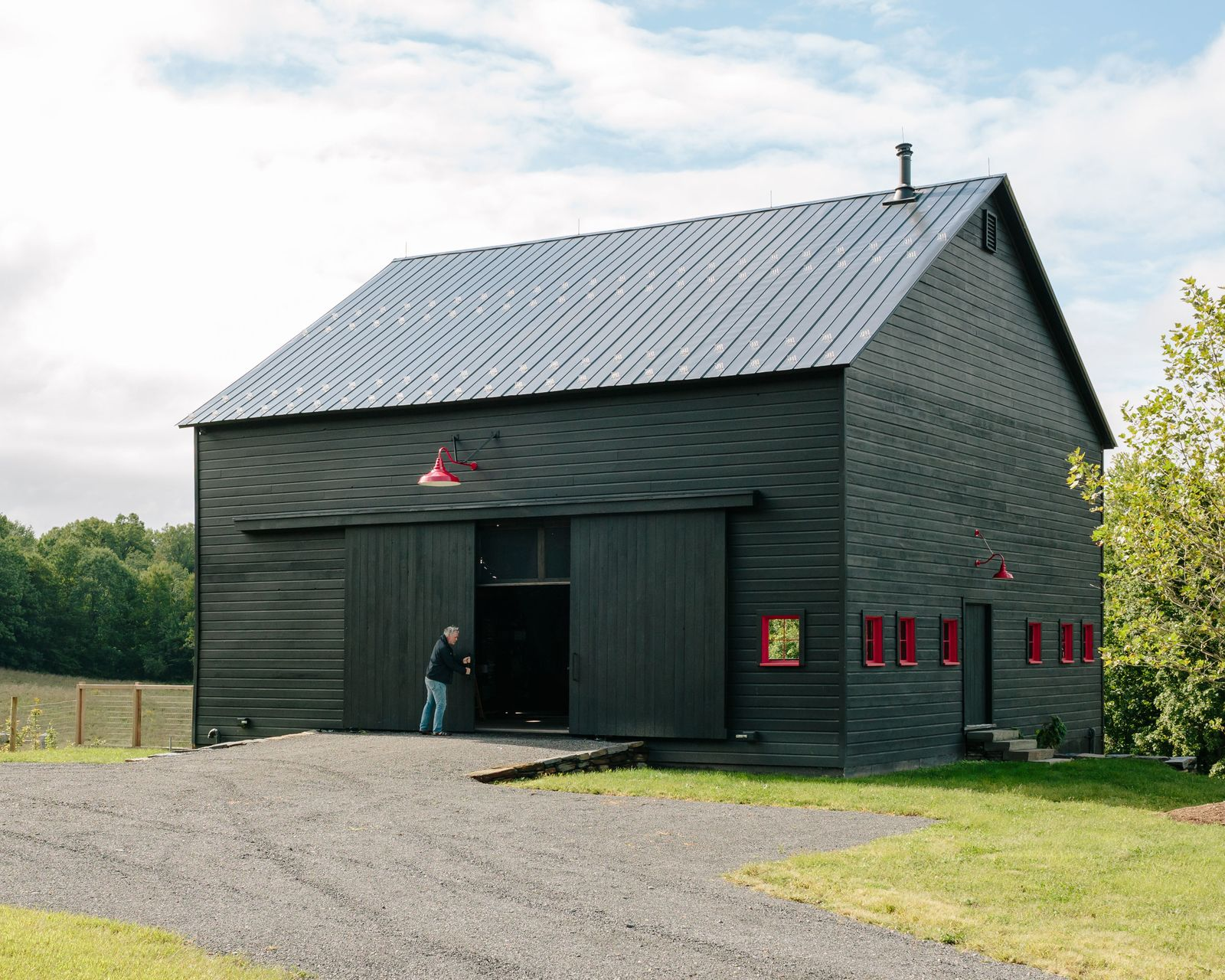 Dwell a passive house and sauna tower join a 19th century barn in the hudson valley