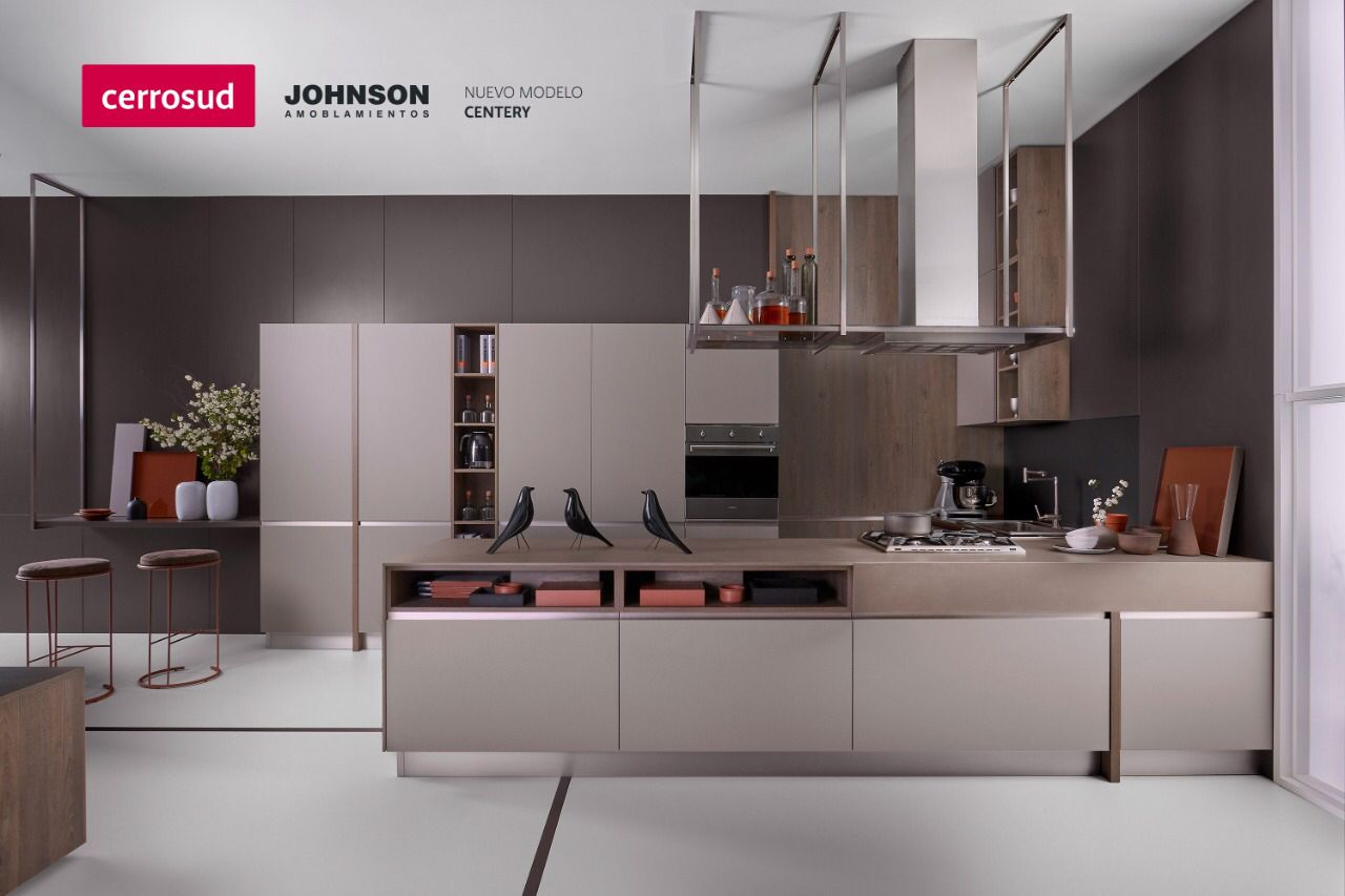 Nuevo Modelo Centery De Johnson Amoblamientos Estética