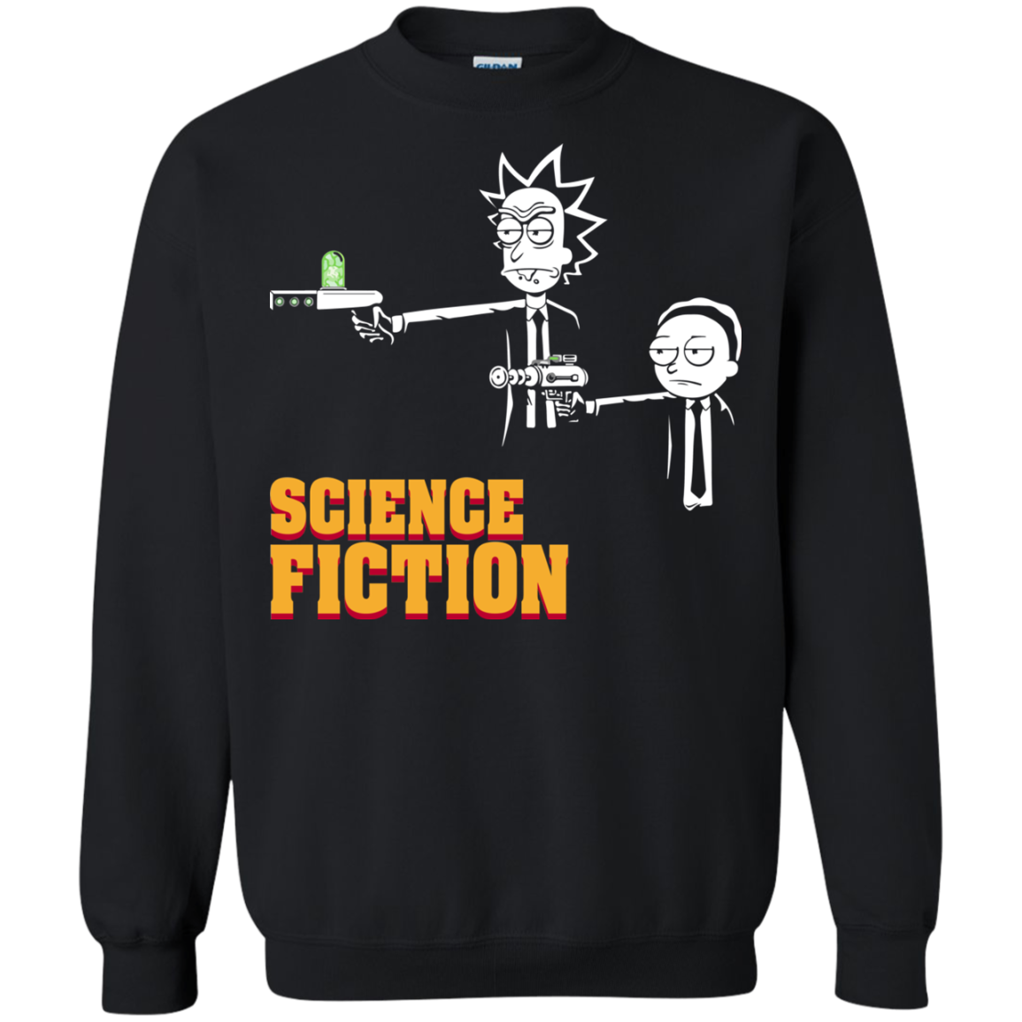 Science Fiction Rick and Morty Pulp Fiction T-shirt, Hoodie, Tank