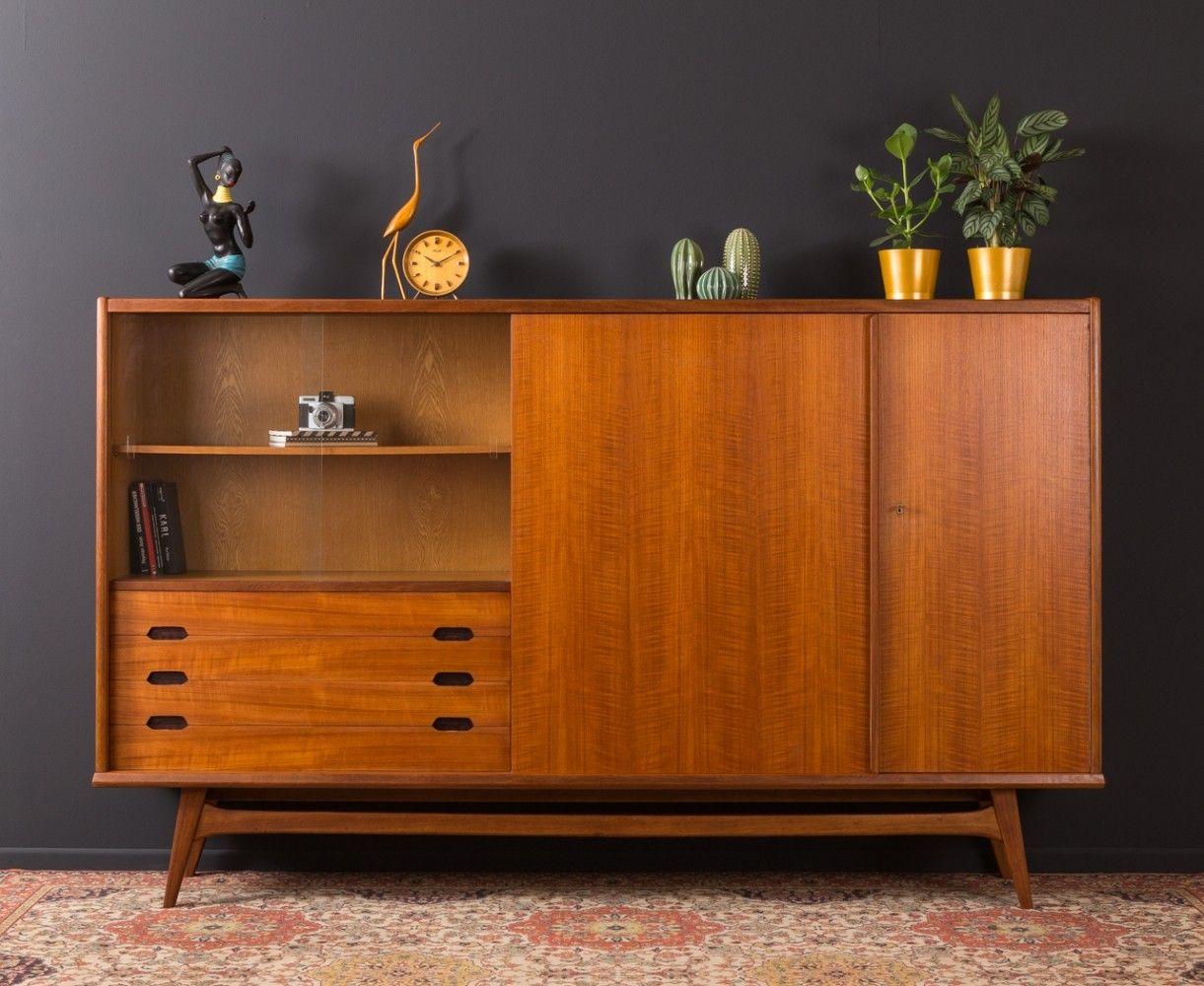For Sale German Buffet In Scandinavian Design 1950s Scandinavian Furniture Luxury Furniture Dream Houses Furniture Design Modern