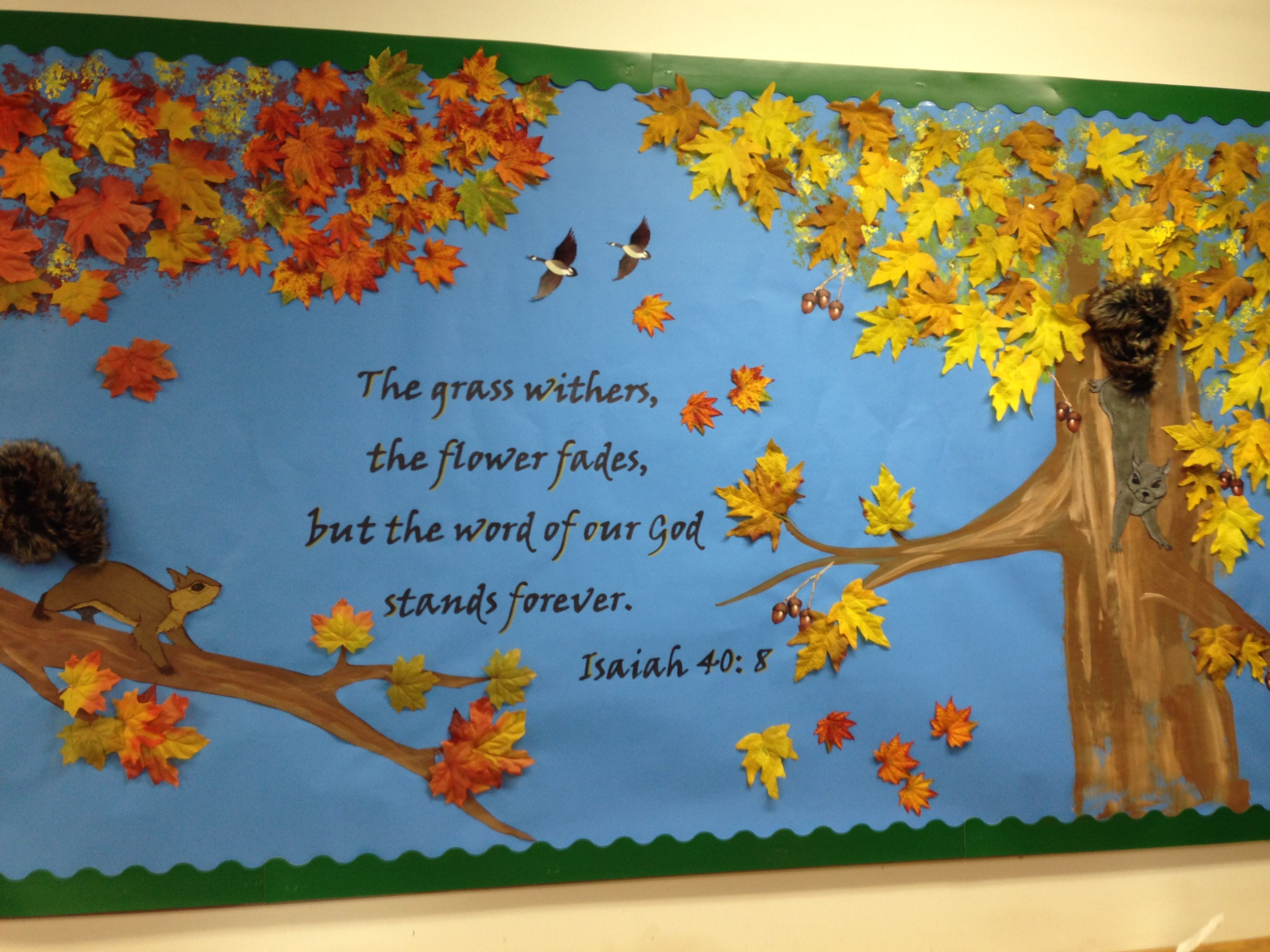 Different Quote Needed For School Thanksgiving Bulletin Boards Halloween Christmas