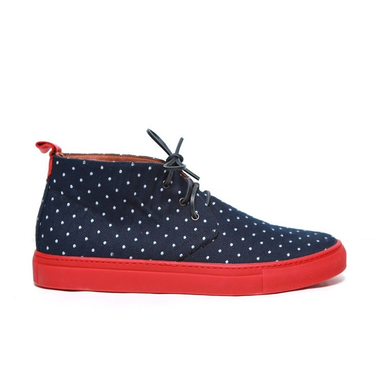 Men's Red Suede Alto Chukka Sneaker   His shoe game   Pinterest   Chukka  sneakers and Man style
