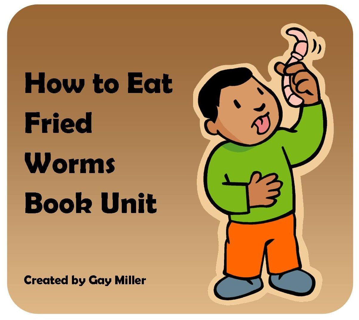 How To Eat Fried Worms Novel Study Vocabulary Chapter