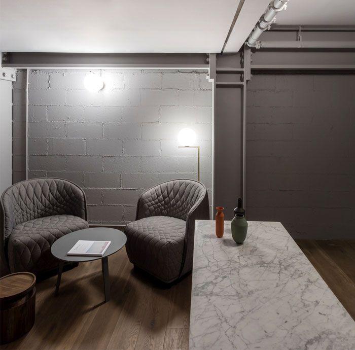 Gemutliche Zeitgenossische Studios Von Grzywinski Und Pons Innenarchitektur Wohnung Gewerbeflache