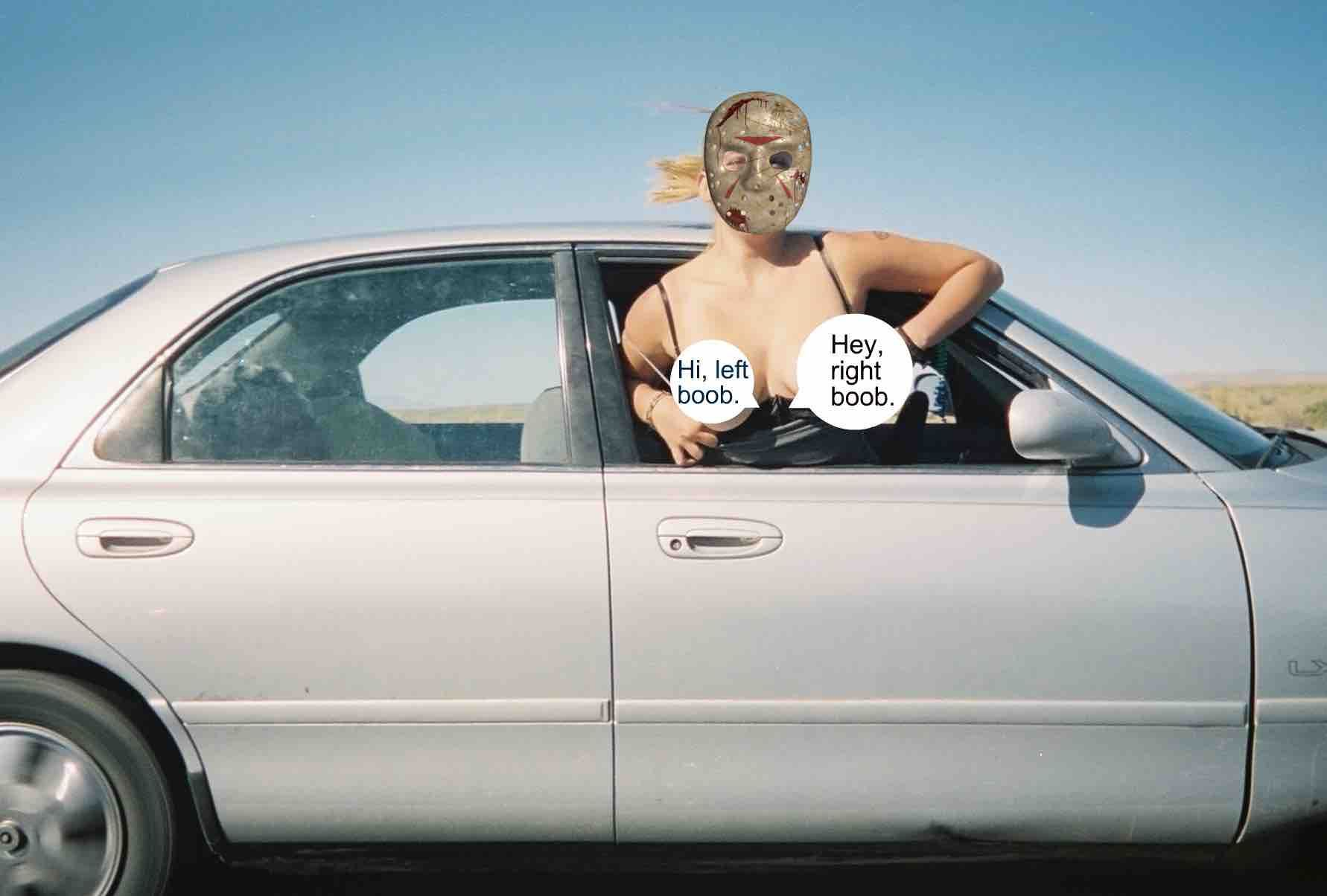 two women arrested for flashing out of car window | welcome to