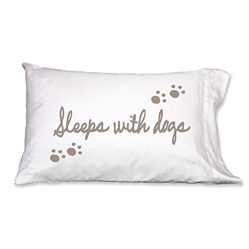 Faceplant Pillowcases Faceplant Dreams  Sleeps With Dogs Pillowcase  300 Thread Count