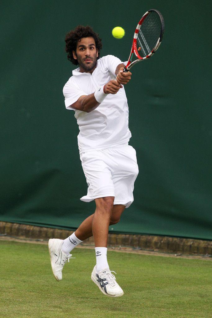 98 Maximo Gonzalez Tennis Match Point Celebrity Photos