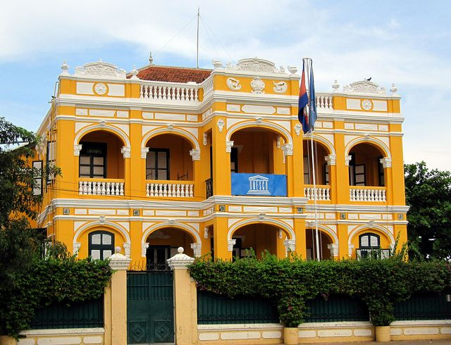 Lovely French Colonial Architecture Phnom Penh Cambodia French Colonial Colonial Architecture French Architecture