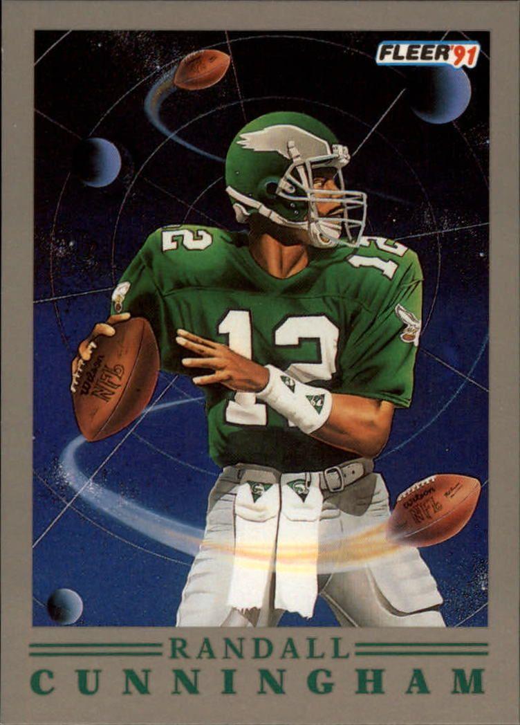 1991 (EAGLES) Fleer ProVision 7 Randall Cunningham in