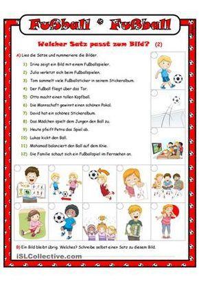 Einfaches Arbeitsblatt zum Leseverstehenmit 2 Aufträgen (Lösungseite ...