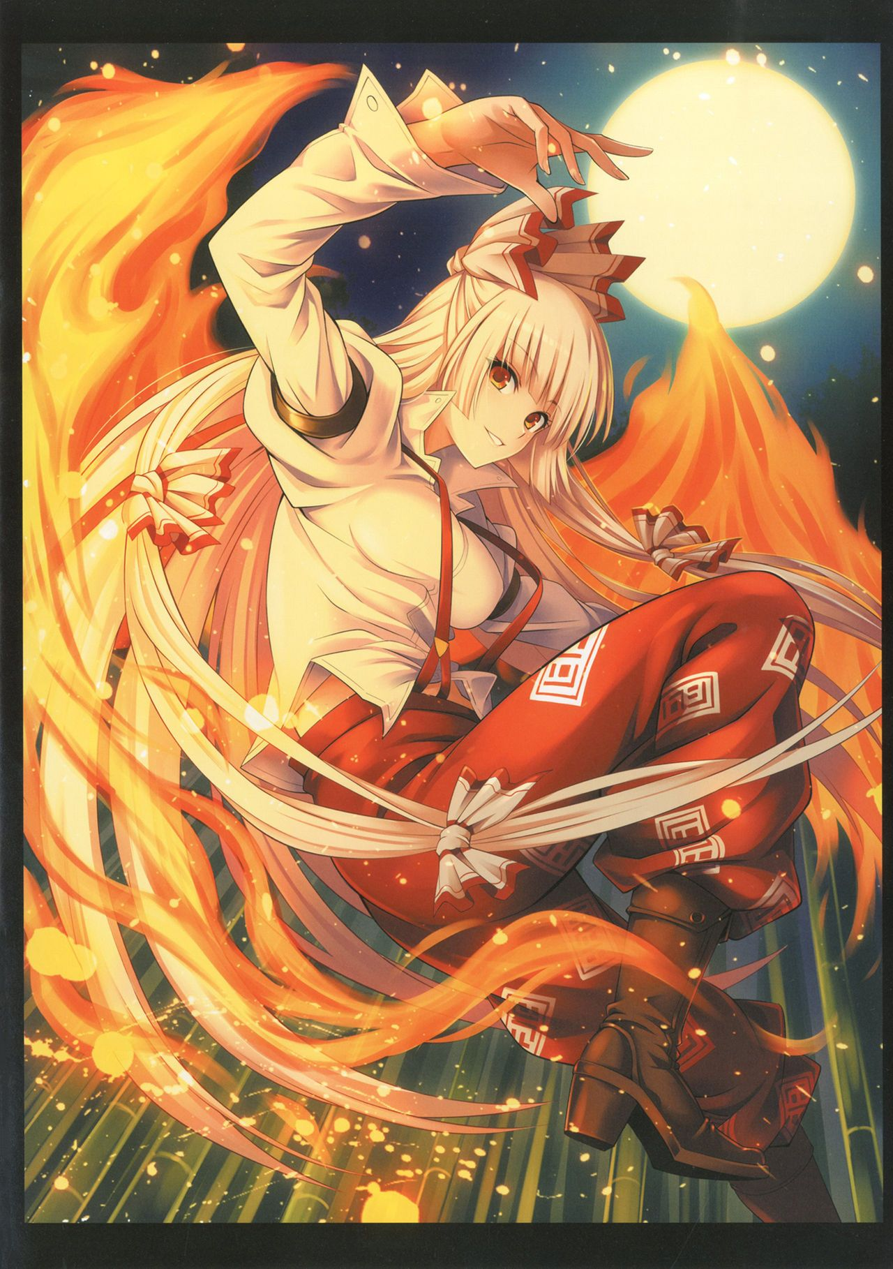 fujiwara no mokou touhou project 東方project おしゃれまとめの人気アイデア pinterest anthony canel 東方 かわいい 壁紙 東方 東方 壁紙