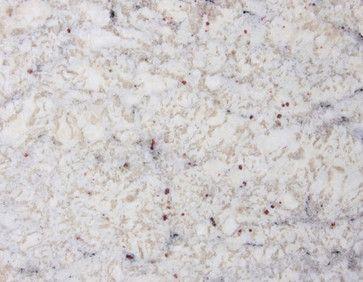 Pretty Bianco Romano Granite Says Creamy White I Like The Cranberry Specks Kitchen Countertops Countertops Traditional Kitchen
