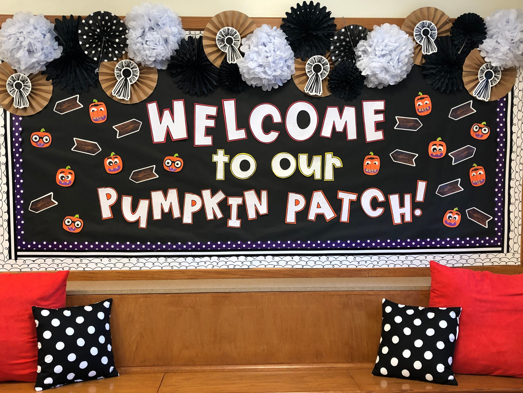 Welcome to our Pumpkin Patch Bulletin Board #pumpkinpatchbulletinboard Welcome to our Pumpkin Patch Bulletin Board #pumpkinpatchbulletinboard