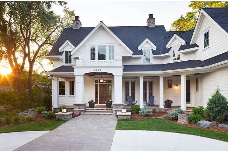 Traditional White Exterior