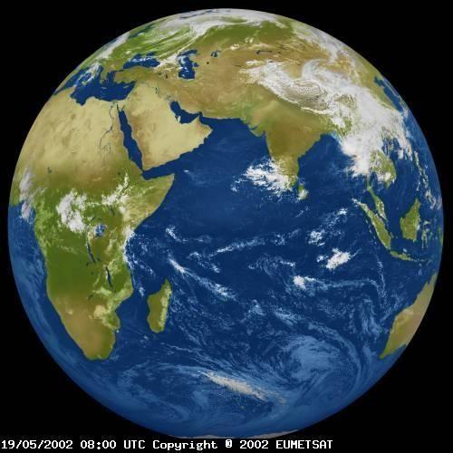 Meteosat 5 Image Taken On May 19 2002