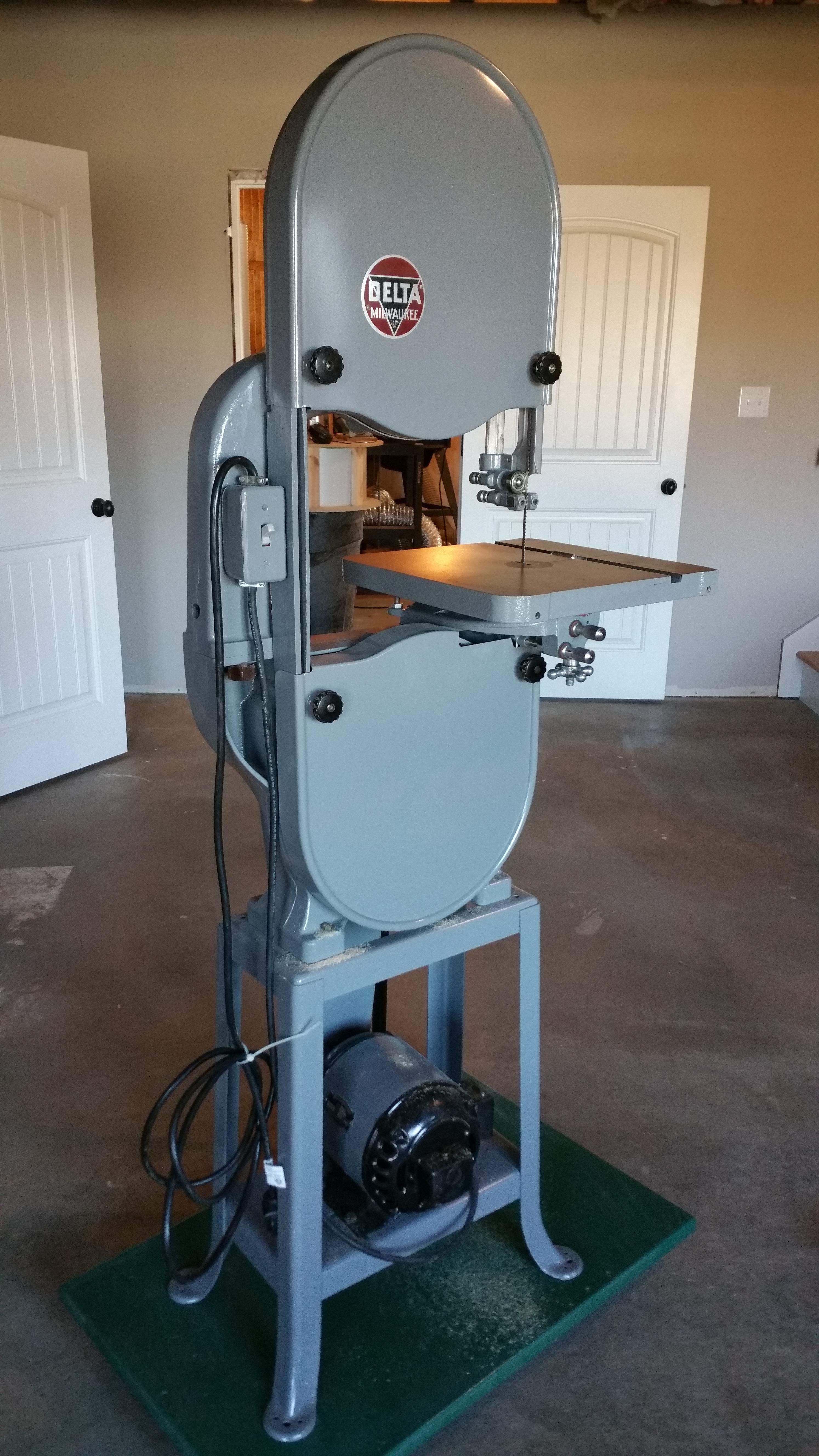my new delta band saw from 1947 variados pinterest