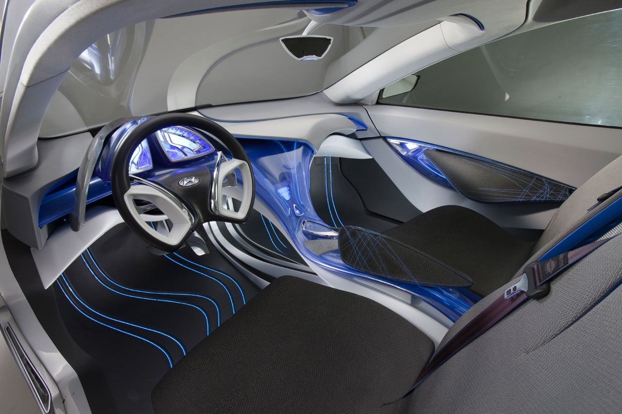 Hyundai Nuvis Concept Car Concept Pinterest Car Interiors Cars And Transportation Design