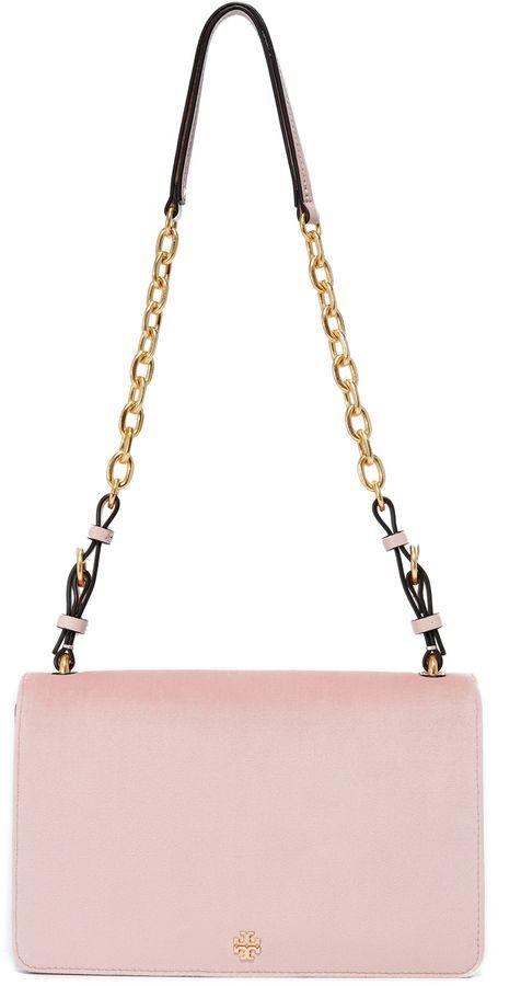 ebb847fcc92 Tory Burch Sadie Velvet Shoulder Bag http   shopstyle.it l