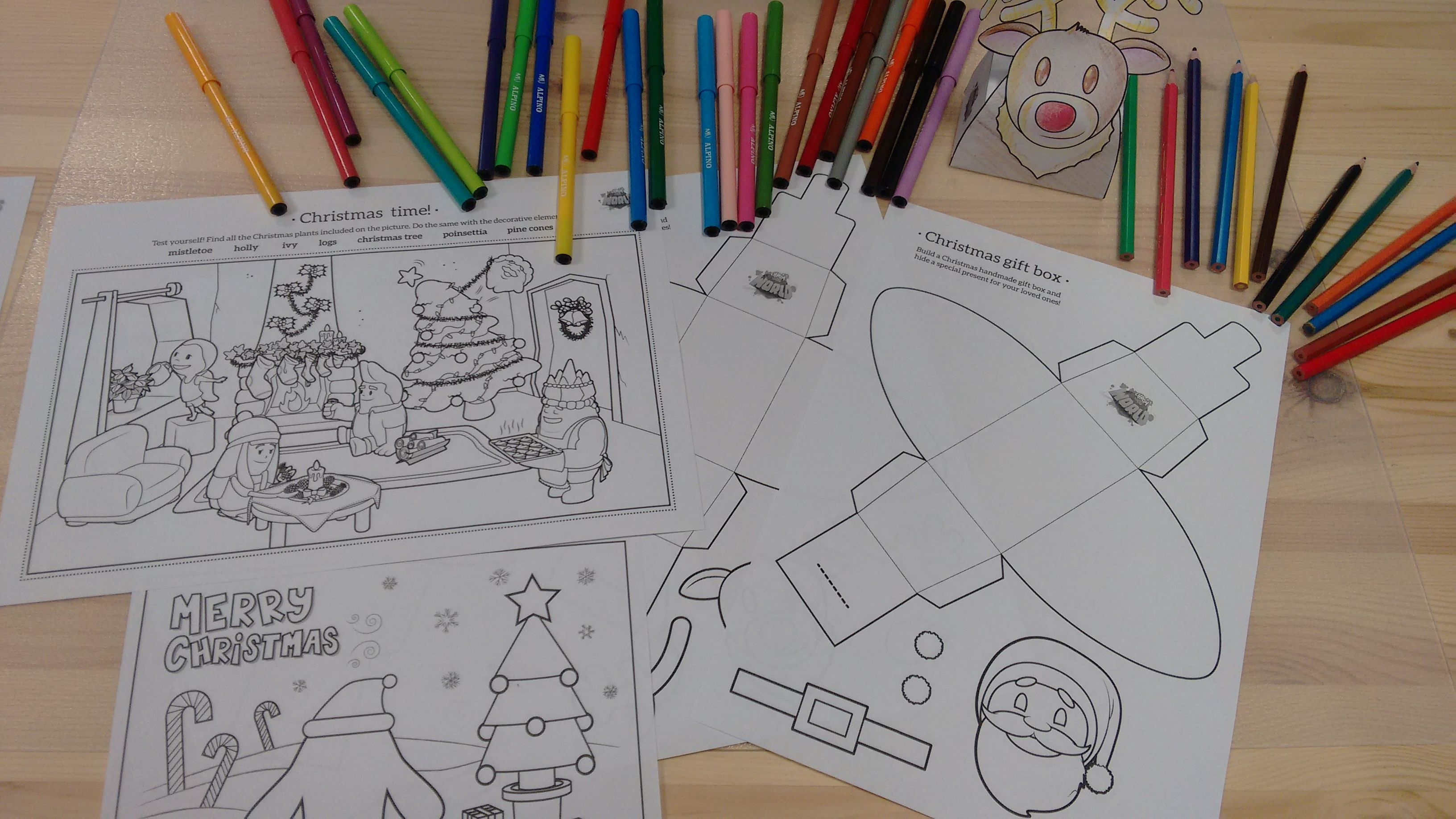 Have You Downloaded Our Free Christmas Pack Yet So Many Fun Stuff To Do Coloring Coloringpages Ar4learning Christmas Challenge Christmas Merry