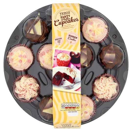 Tesco Party Cupcakes 12 Pack