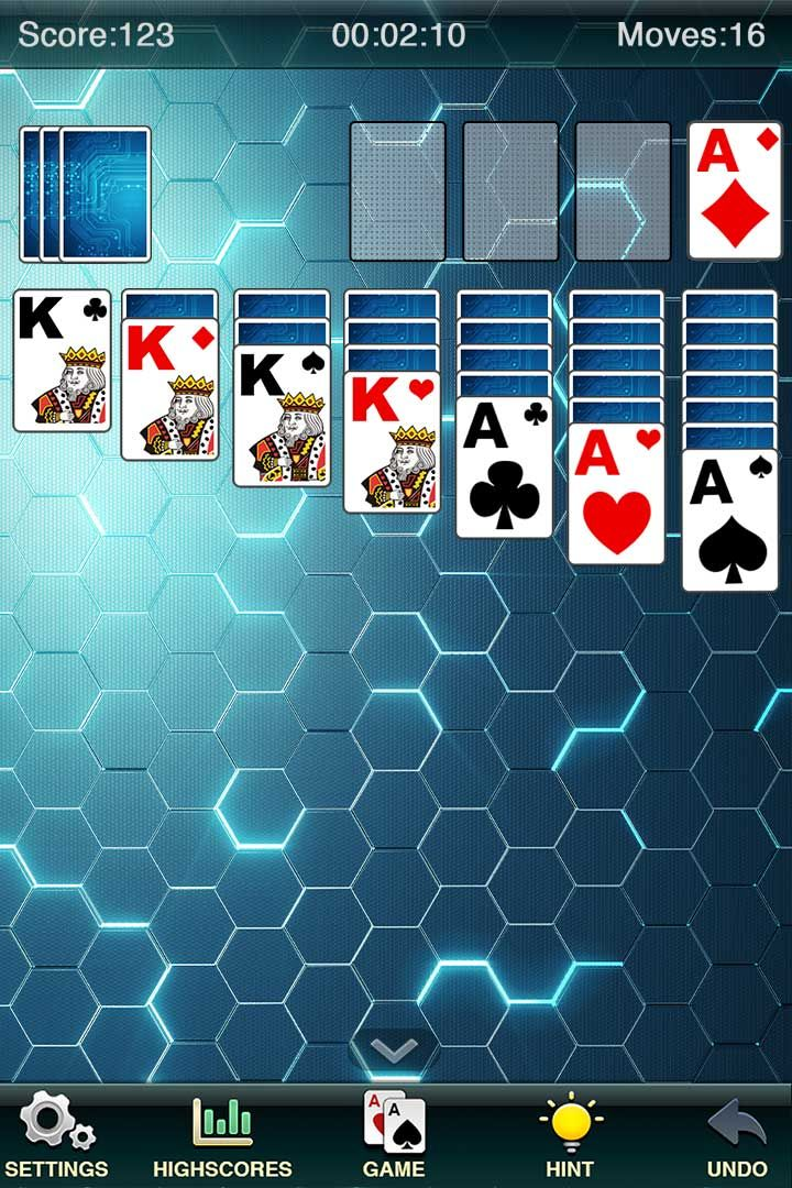Pin by Zenjoy Limited on iOS Solitaire, Games, Ipod touch