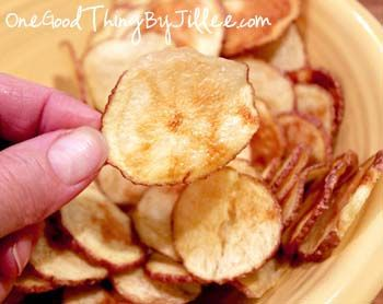 Microwave Potato Chips . . . Crunchy, Healthy Perfection!