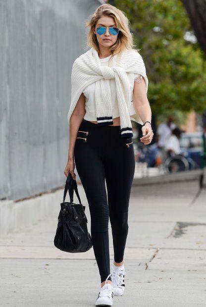 Adidas Superstar Damen Schwarz Outfit