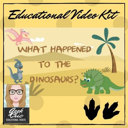 How did dinosaurs go extinct? Video and Activities!