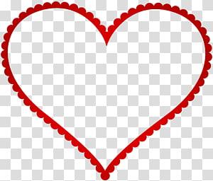 Heart Frame Red Heart Border Frame Red Heart Themed Illustration Transparent Background Png Clipart Heart Frame Clip Art Heart Themed