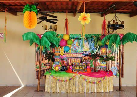 Decoraci n para fiesta hawaiana im genes y consejos for Consejos sobre decoracion