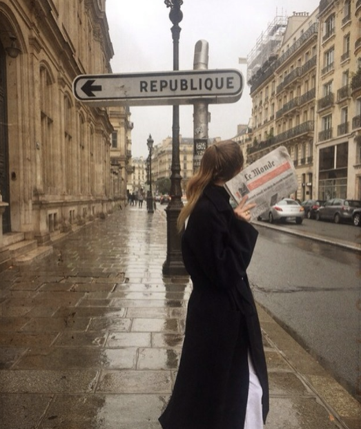 Street On A Rainy Day - Paris - France #divorce