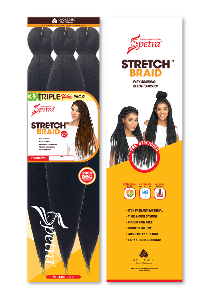 xpressions pre stretched braiding hair