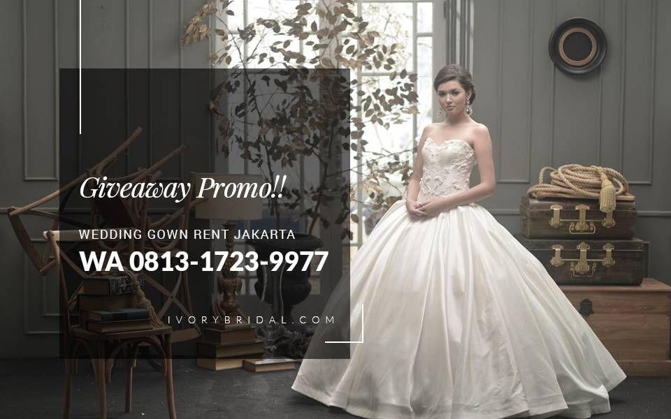 Bridal Gown Rental Jakarta, Wedding Gown Jakarta Designer, Baju ...