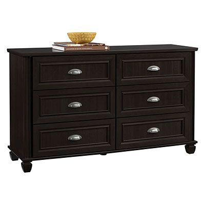 Best View Ameriwood™ 6 Drawer Dark Russet Cherry Finish Dresser 400 x 300