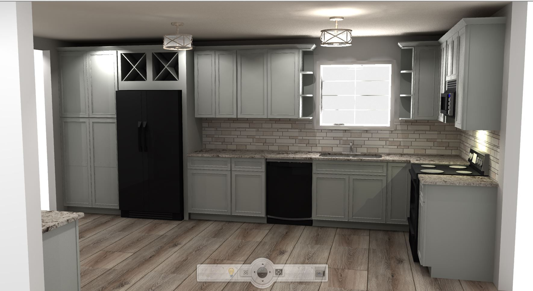 Designed And Rendered By Pamela B For Eclectic Harmony Interiors Shenandoah Painted Stone Kitchen And Bath Design Bath Design Kitchen And Bath