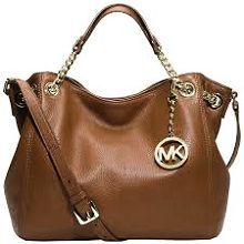 Michael Kors Purse Cream and tan Michael Kors. Has some wear as shown in picture. Price is negotiable KORS Michael Kors Bags Shoulder Bags