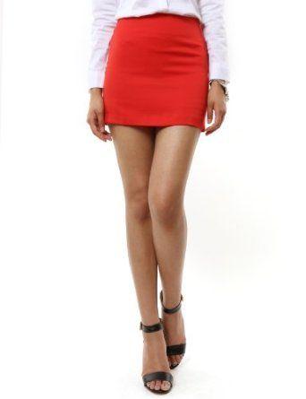 Hot Skirt red