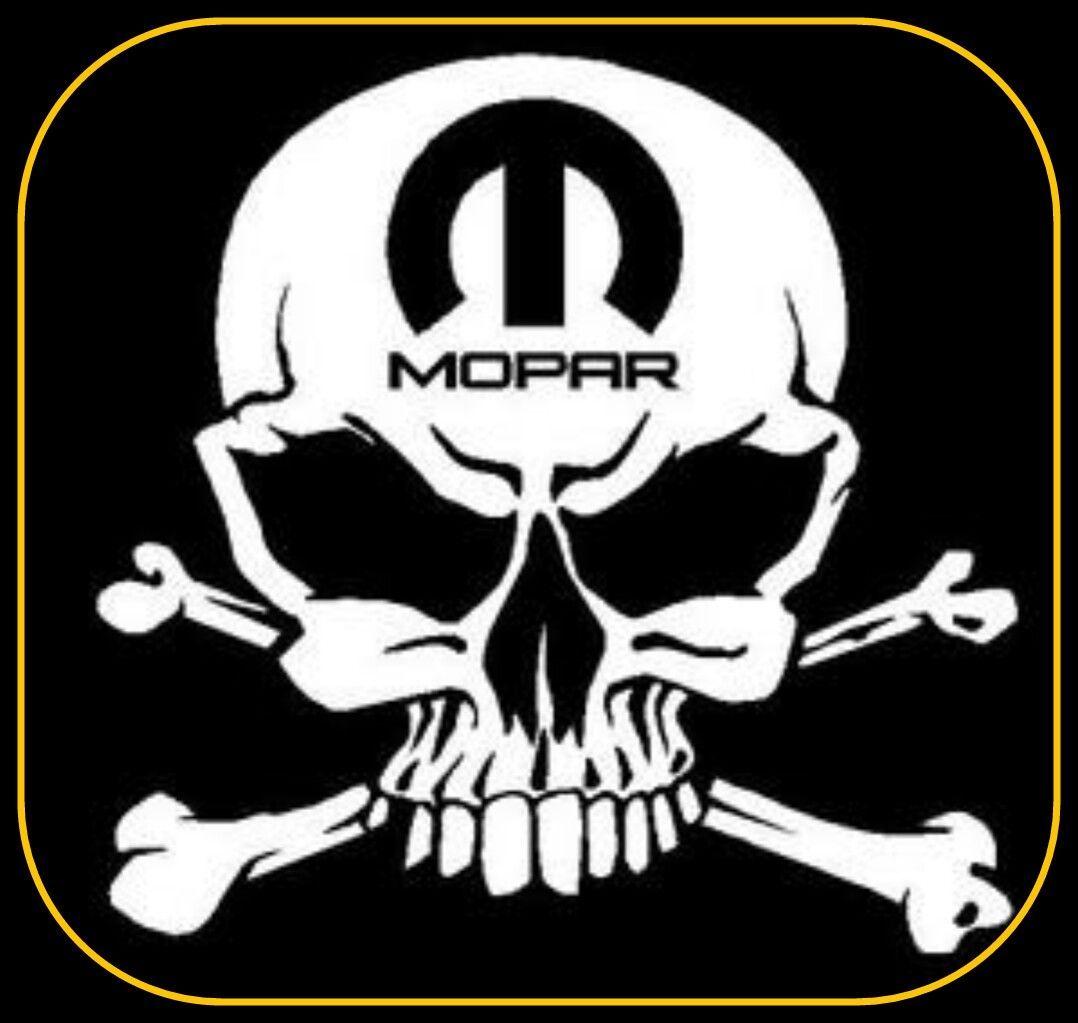 Skull decals MOPAR Punisher Dodge Charger Challenger Ram Muscle Dart 1500