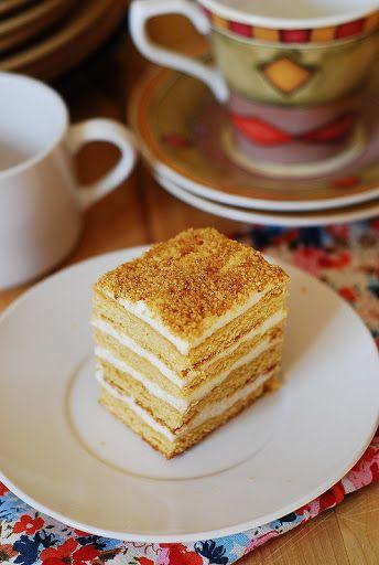Honey Cake Medovik Tort Tort Medovik Rezept Mit Bildern Backen