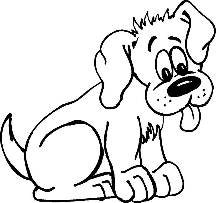 Puppy Coloring Pages #2328 | Pics to Color | coloring 3 | Pinterest