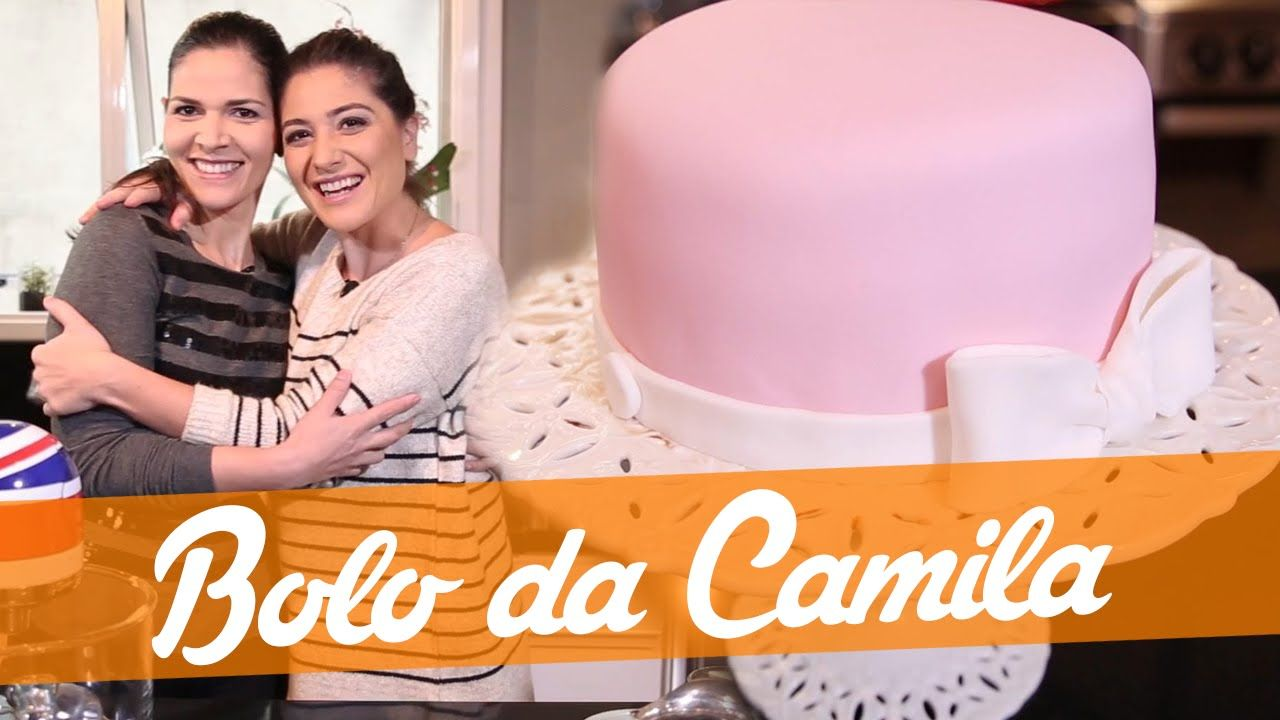 Bolo Da Camila Com Pasta Americana Receita Bake Off Brasil Com Imagens Bolo Receita De Bolo Bolo Rosa