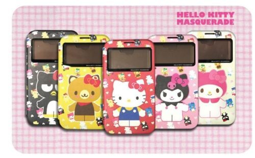 Premium Hello Kitty Masquerade View Cover For Samsung Galaxy Note3 Case #SmartPhoneCase  #SamsungGalaxyNote3 #HelloKitty