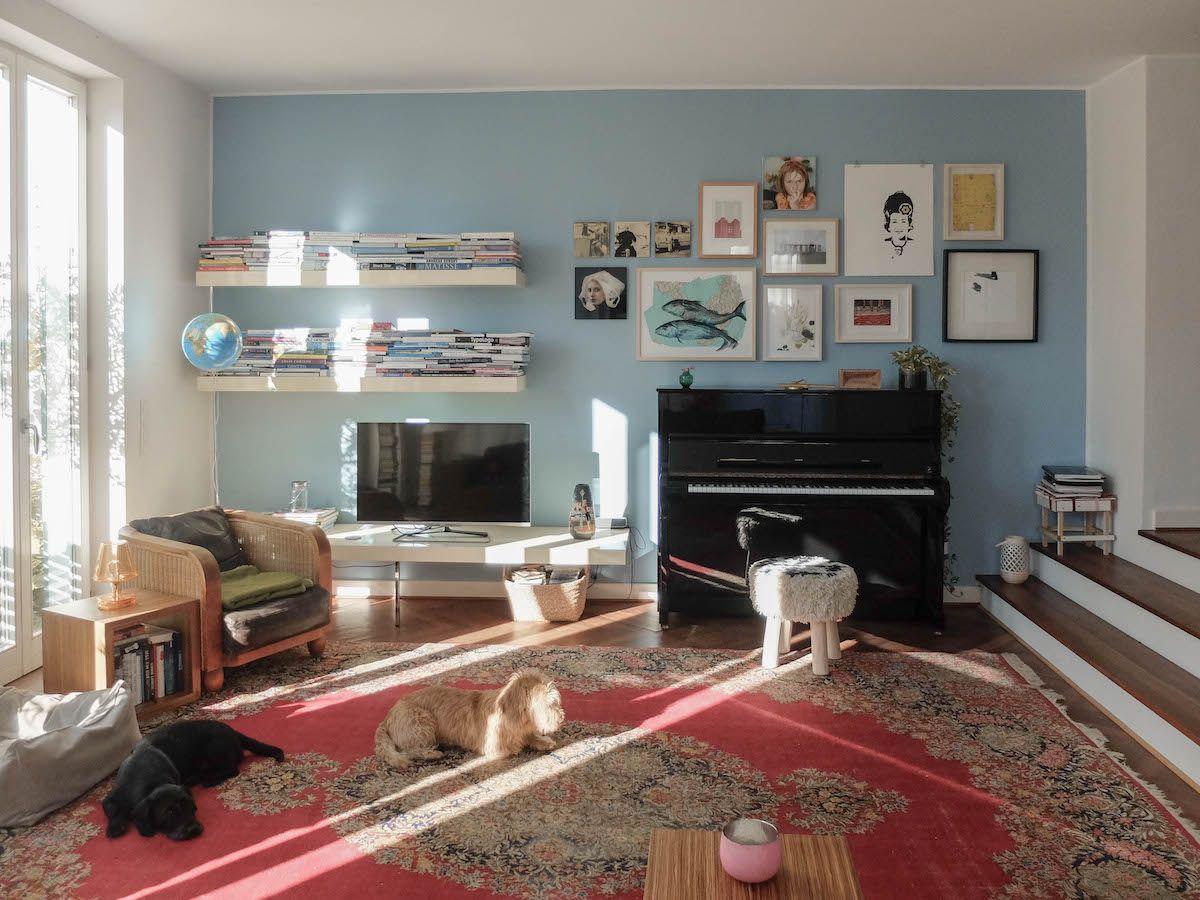 Badezimmer ideen blau wohnzimmer blaue wand  livingruhr  blog fotos  pinterest